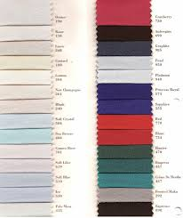 Impression Bridal Color Chart Daymor Swatches Jans Boutique Over 10 000 Gowns In Stock