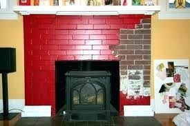 red brick fireplace painting ideas old painted mantel pictures decor brick fireplace decorating ideas red