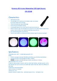 Alternate Light Source Forensics Forensic Alternative Light Source All In One