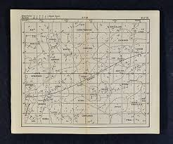 1889 Astronomy Print Star Chart Fall Constellations