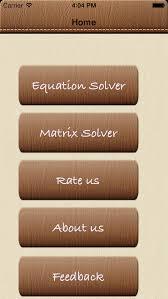 solve4x math equation solver screenshot 1