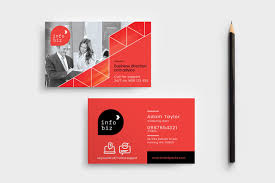 Simple Business Card Template Psd Ai Vector Brandpacks