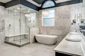 Luxury master bathrooms Bathroom Designs Masterbathroomhexagonwallsdoublestandingshowerdtv Pinterest Luxury Master Bath Remodeling Choosing Towel Warmers