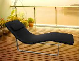 Fabric Reclined Outdoor Reading Chair