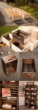 29 ways to decorate with wooden crates usefuldiyprojects com decor ideas 8