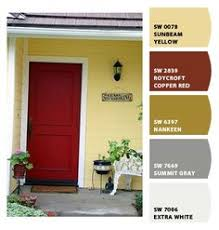 white front door yellow house. DIY Idea For Old Suitcase. Red Door HouseHouse FrontRoof White Front Yellow House H