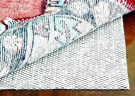 vinyl rug pad area pads for hardwood floors best floor damage large of