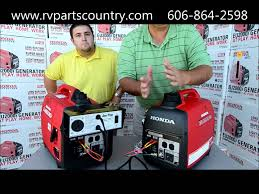 honda eui generator demonstration on honda eu parallel kit honda eu2000i generator demonstration on honda eu2000 parallel kit at rv parts country