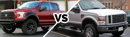 ford f 150 vs f 250 differences and