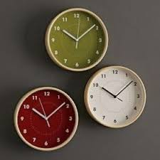 Small Picture Kitchen Wall Clocks Contemporary Foter