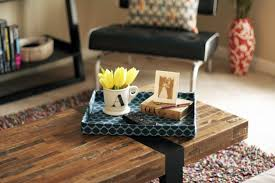 Decorating With Trays On Coffee Tables Coffee Table Tray Decor Rustic Coffee Table Tray Decorative Farmhouse 34