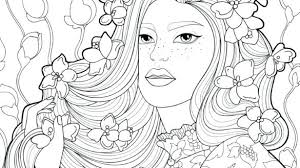 Coloring Pages Hair Coloring Pages Hair Swift Image Coloring Page
