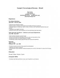 The Best Sample Resume For Key Holder Retail Plus Write A Computer Skills  For Collage Graduate ...