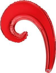 Конвер <b>Шарик</b> воздушный Волна цвет красный — купить в ...
