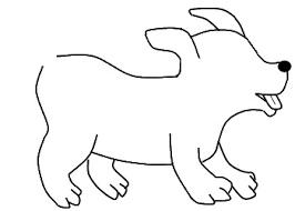 dog drawing easy. Beautiful Dog How To Draw A Dog Step 3 To Dog Drawing Easy T