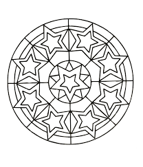 Simple Free Mandalas 27 Coloring Pages