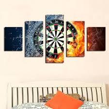 target wall art new 5 pieces sets canvas art canvas paintings darts wheel target living room target wall art