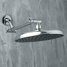 adjule shower head arm extension downpour aquasource instructions brushed nick