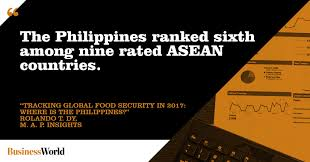 Tracking Global Food Security In 2017 Where Is The Philippines
