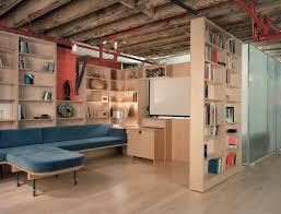 creative basement shelving