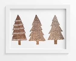 christmas plant diagram on wood pine tree wall art with 25 lovely christmas wall decor that mostly favourite