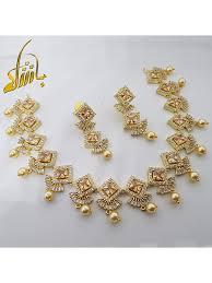 Gold Set Design 2019 In Pakistan Pakistani Necklace Set 2019