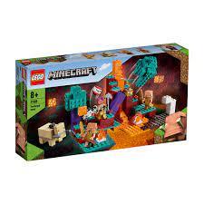 Đồ Chơi Lắp Ráp LEGO MINECRAFT Khu Rừng Sinh Thái Warped 21168 Cho Bé Trên  8 Tuổi tốt giá rẻ