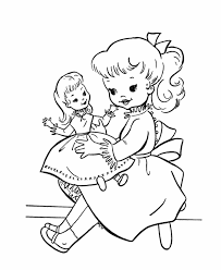 American Girl Doll Coloring Page Coloring Home