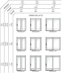 sliding glass door sizes patio doors size best of stunning