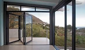 stacking window wooden vista foldaside door with corner palace slider