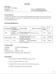 Sample Resume For Fresher Computer Science Engineer   Free Resume     Resume Format For Computer Hardware And Networking Engineer Click Here to  Download this Software Development Resume
