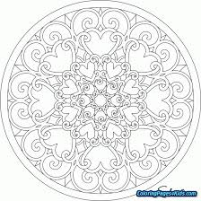 Free Printable Mandala Coloring Pages Kids Coloring Pages For Kids