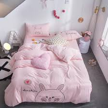 lovely ro bedding set pink bed