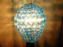 outstanding turquoise crystal chandelier 31 beads china inspired glass bulb cover sleeve pendant lamp aqua shade l