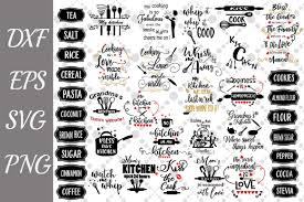 These svg images were created by modifying the images of pixabay. Kitchen Bundle Graphic By Prettydesignstudio Creative Fabrica