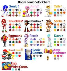 Color Chart Tumblr