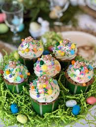 Carrot Cake Cupcakes Easter Party Ideas Carrot Cake Cupcakes