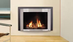 corner electric fireplace insert