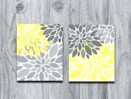 yellow and gray canvas wall art yellow and gray canvas wall art lovely yellow gray flower on yellow and grey wall art canvas with yellow and gray canvas wall art skandal club