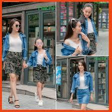 Áo khoác jean bé gái, áo croptop cá tính - HachiO - Thời trang trẻ em