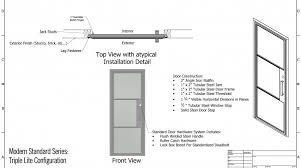 standard door height photo 12