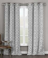 gray harris blackout curtains set of two by
