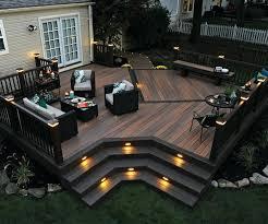 composite deck ideas. Beautiful Ideas Composite Decking Ideas Railing Fastening Lighting  Garden Grey Throughout Composite Deck Ideas