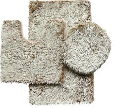chenille bathroom rugs 3 piece shiny chenille bath rug set includes rug contour and lid cover vintage chenille bathroom rugs
