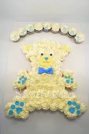 30 Of The BEST Baby Shower Ideas  Pull Apart Cake Baby Buggy Pull Apart Baby Shower Cupcakes