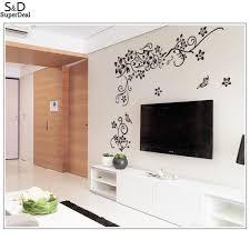 Vines Schmetterlinge Wand Dekoration Schmetterling Fenster Schwarz