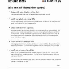 Resume With No Job Experience Example Resume High School Graduate No Job Experience New Resume