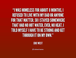 Homeless Quotes Mesmerizing Quotes About Helping Homeless People On QuotesTopics