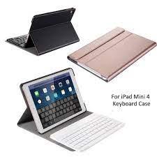 Bao da kiêm bàn phím bluetooth không dây cho iPad Mini 4