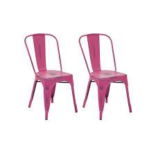 distressed metal furniture. OSP Designs Bristow Distressed Metal Armless Chair 2-piece Set, Blue Furniture